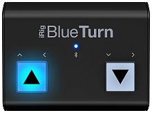 IK MULTIMEDIA iRig BlueTurn напольный бесшумный Bluetooth контроллер для нотных приложений iOS, Android и Mac